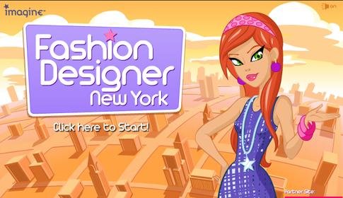 Dress up game fashion designer new york